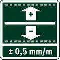 Точность измерения поверхности +/- 0.5 мм./м.  / bolgarka.kz