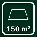 Рекомендуемая площадь газона 150 кв.м.