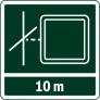 Рабочий диапазон лазерного луча